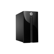 HP PC 460-P201NN, Intel Core i5 7400T QC, 4GB, 1TB HDD, Intel® HD630, USB egér/bill, DOS, fekete, 3 év