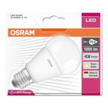 Osram Star 10,5 W/827 75 E27 1060 lumen matt LED körte izzó