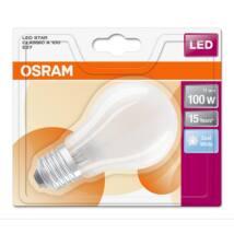 Osram Star 11 W/840 100 E27 1521 lumen matt LED körte izzó