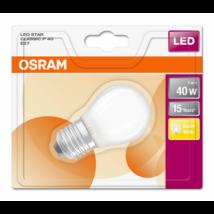 Osram Star 4 W/827 40 E27 470 lumen matt LED kisgömb izzó