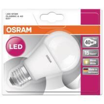 Osram Star 5,5 W/827 40 E27 470 lumen matt LED körte izzó