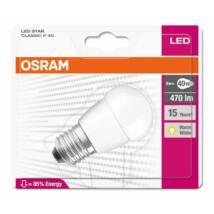 Osram Star 5,7 W/827 40 E27 470 lumen matt LED kisgömb izzó