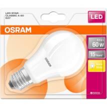 Osram Star 9 W/827 60 E27 806 lumen matt LED körte izzó