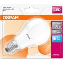 Osram Star 9 W/840 60 40 E27 806 lumen matt LED körte izzó