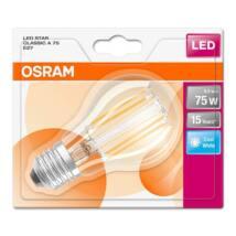 Osram Star Filament 8 W/840 75 E27 1055 lumen LED körte izzó