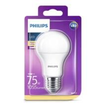 PHILIPS  LED izzó 11-75W A60 E27 827 FR ND