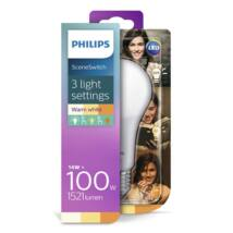 PHILIPS  LED izzó 14-100W A67 E27 827 FR ND Scenekapcsoló