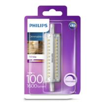 PHILIPS  LED izzó 14-100W R7S 830 118mm DIM
