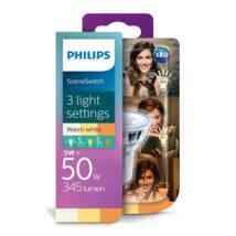 PHILIPS  LED spot 4.5-50W 827 GU10 36D Scenekapcsoló