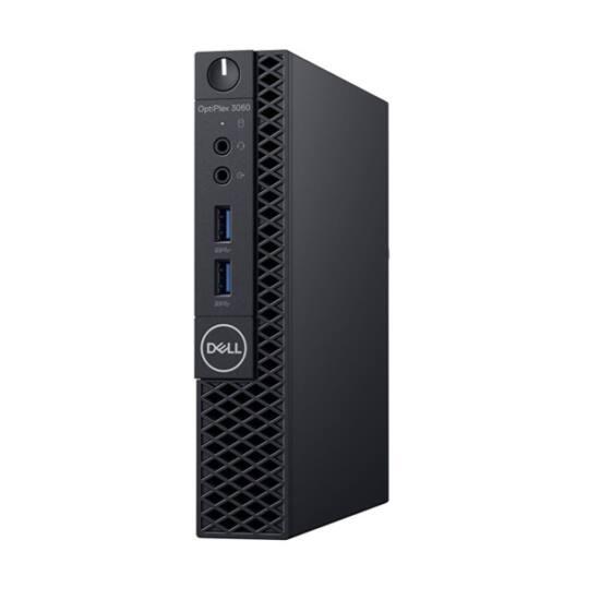 DELL PC Optiplex 3060 Micro, Intel Core i3-8100T (3.10GHz), 4GB, 128GB SSD, WLAN
