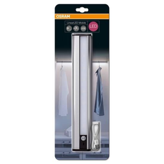 OSRAM lámpa, Linear LED Mobile USB 300 Silver, 98 lumen