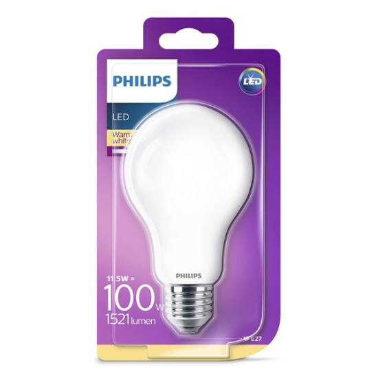 PHILIPS  LED Classic izzó 11.5-100W A67 E27 827 FR ND SRT