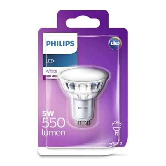 PHILIPS  LED Classic spot 5W 830 GU10 120D FR ND