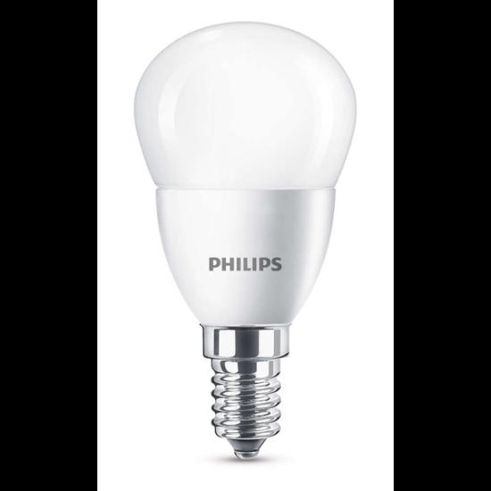 PHILIPS LED izzó 40W P45 E14 WW FR ND RF 1BC/6