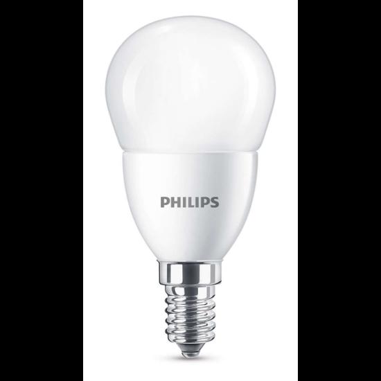 PHILIPS LED izzó 60W P48 E14 CW FR ND RF 1BC/6