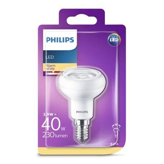 PHILIPS  LED reflektor 2.9-40W E14 827 230V R50 36D ND