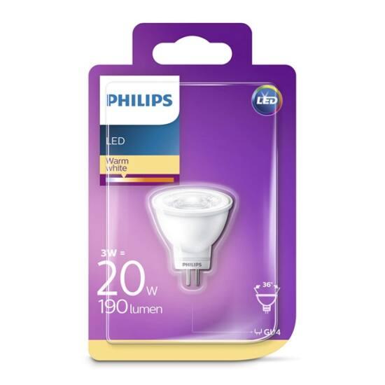PHILIPS  LED spot 3.5-20W 827 MR11 GU4 24D ND