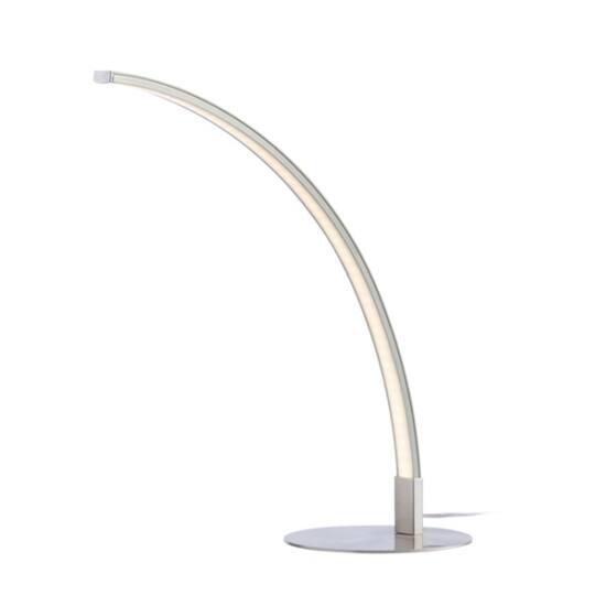 PLATINET Asztali lámpa 6W ívelt - fehér