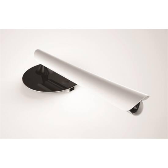 PLATINET Asztali lámpa 8W beépített USB töltővel - fekete