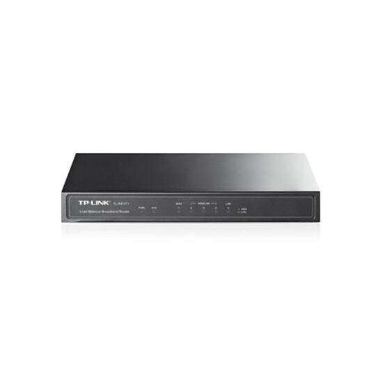 TP-LINK Vezetékes Router 1xWAN(100Mbps) + 3xWAN/LAN(100Mbps) + 1xLAN(100Mbps), TL-R470T+